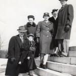 Auntie & Family 1944