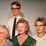 Auntie & Family 1963