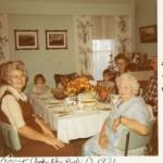 Auntie & Family 1971