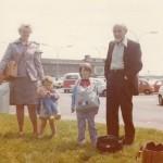 Auntie & Family 1973